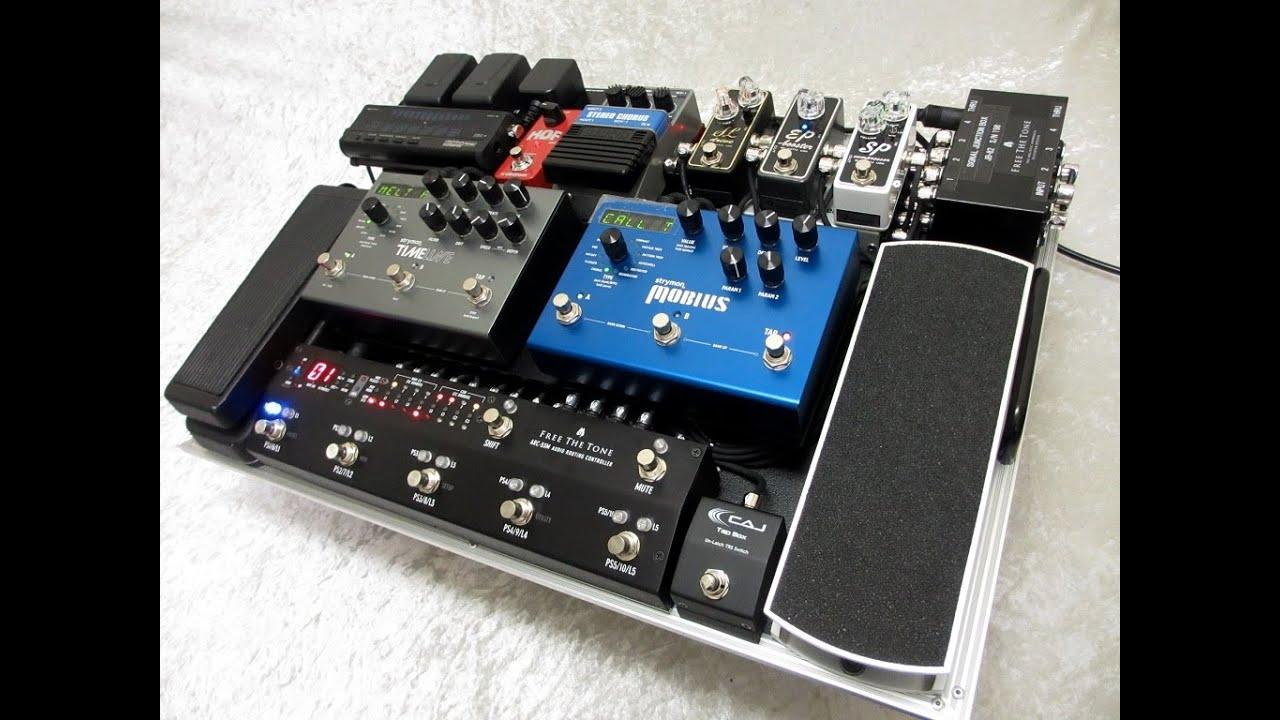 U3010lukefujiwara Pedal Board System Demo U3011before    After With  U0026quot Wet Parallel Mixer U0026quot