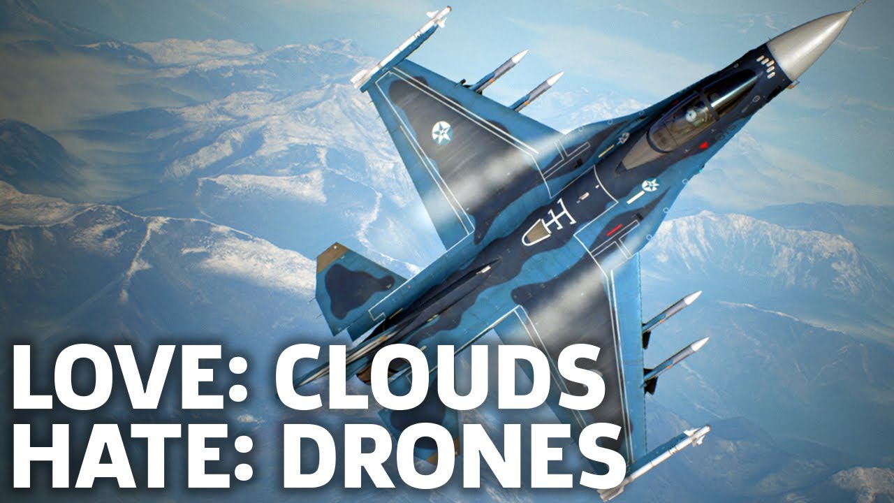 brand new 48a24 384e5 Ace Combat 7  Skies Unknown Gameplay - Cool Clouds And Annoying Drones