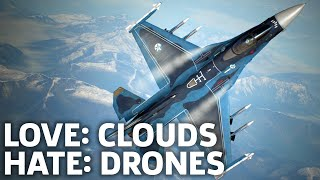 Ace Combat 7: Skies Unknown Gameplay - Cool Clouds And Annoying Drones