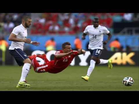 Francia golea 5-2 a Suiza en el Mundial BRASIL 2014 / France 5-2 Switzerland World Cup 2014