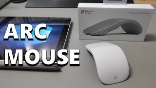 Microsoft Surface Arc Mouse - Perfect For Travelling