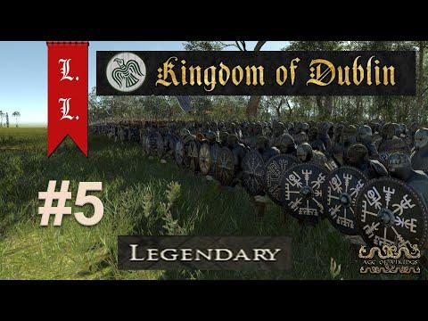 Kingdom of Dublin campaign #5 - Age of Vikings - Attila mod