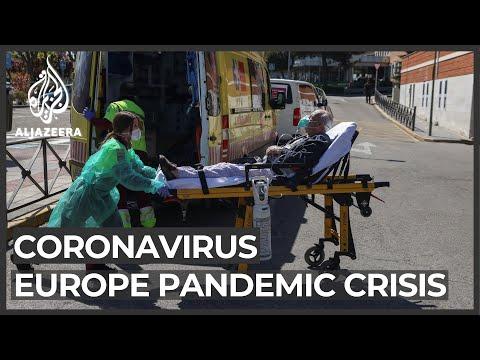 Europe pandemic crisis: