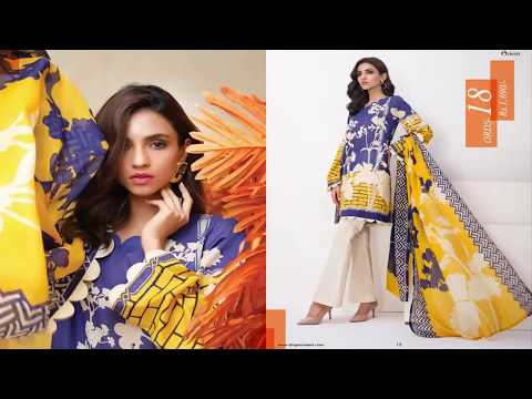 Orient Textiles Nuovo Collection Summer Lawn Volume 1
