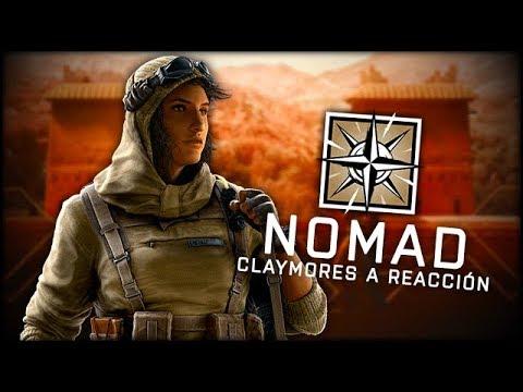 """RAINBOW SIX SIEGE - GUÍA DE NOMAD: """"Claymores a reacción, y un AK a la espalda"""""""