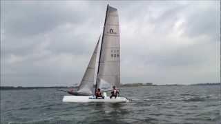 catamaran zeilen op het veluwemeer 4.2
