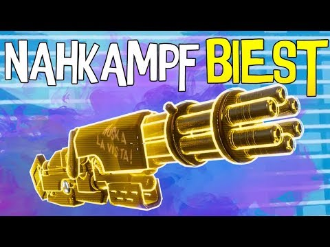 MINIGUN... DAS NAHKAMPF MONSTER | Fortnite Battle Royale