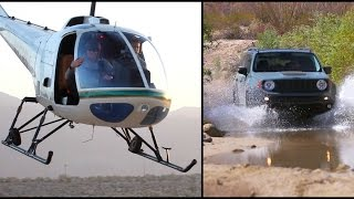 Helicopter Skydive: Jeep Off-road Adventure
