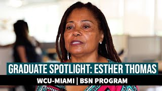 WCU Alumni Spotlight: Esther Thomas