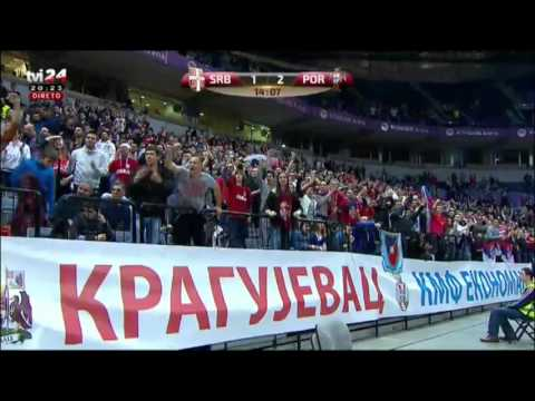 Serbia 1-2 Portugal World cup qualifiers 2016 part2
