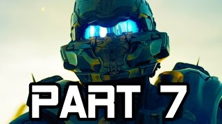 Halo 5 Gameplay Walkthrough Part 7 - Mission 4 - FULL GAME!! (Halo 5 Guardians Gameplay)