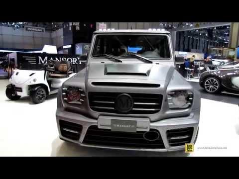 Тюнинг Mercedes Benz G Class G63 AMG от Mansory