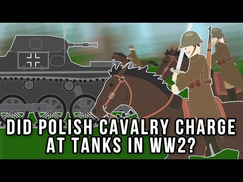 Did Polish Cavalry charge at Tanks in WWII?
