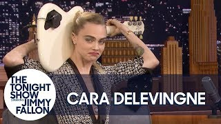"Cara Delevingne Plays ""Sweet Home Alabama"" on Guitar Behind Her Back"