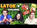 CHALLENGE MAKAN LATOK + SAMYANG 2X + COKLAT KITKAT + SUSU TEPUNG. KEMBANG TEKAK WOI!