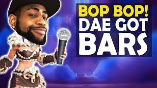 BOP BOP | DAEQUAN GOT BARS | HIGH KILL FUNNY GAME - (Fortnite Battle Royale)