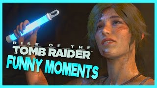 ★ THE KATY PERRY CONSPIRACY - Rise of The Tomb Raider Funny Moments ★