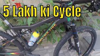 Hero MTB Himalaya 2018   Riding a Santa Cruz MTB   Rs 3.00 Lakh   Day 1 vlog