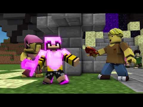 Minecraft Song 1 Hour: Battlefield!  Minecraft Animations and Music Video Series!