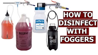 Disinfectant Foggers How To Disinfect Using Foggers MP3