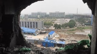Emotions high in Tianjin as blast victims demand answers