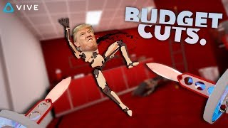 GIVE ME YOUR BITCOIN • BUDGET CUTS VR - HTC VIVE GAMEPLAY