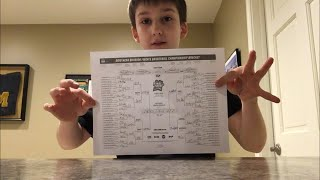 Filling out my 2018 March madness bracket