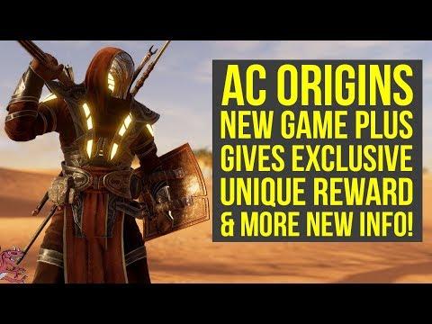 Assassin's Creed Origins New Game Plus Has UNIQUE REWARDS & Way More New Info (AC Origins DLC)