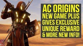 Assassin's Creed Origins New Game Plus Has UNIQUE REWARDS & Way More New Info (AC Origins D