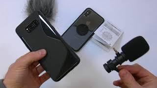 Usare o no un microfono esterno e come scegliere.Confronto iPhone X Galaxy S8+