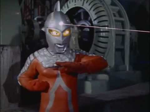 Attack of the Striped Alien Banana! Ultraseven vs Godola