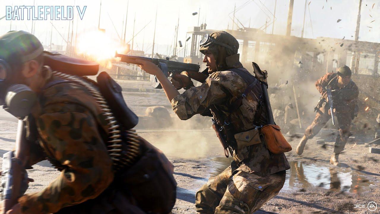 Battlefield V — Официальный трейлер для Gamescom — Разрушение Роттердама