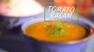 Tomato Rasam Recipe | Saffola Fit Foodie | How To | Healthy