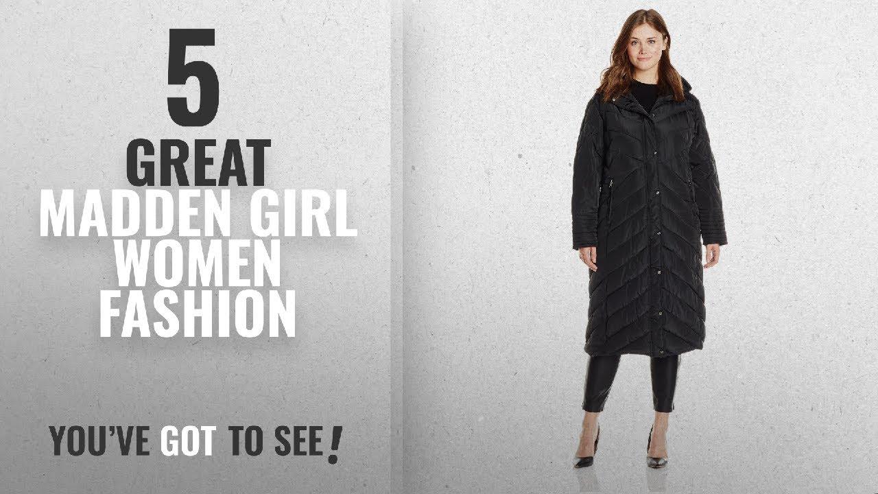 d22385da1d8f3 Madden Girl Women Fashion  2018 Best Sellers   Madden Girl Women s Plus-Size  Long Maxi Puffer In