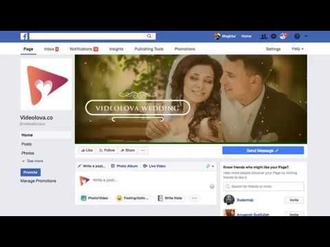 (V1-OTO) Cinematic Wedding FB Cover a