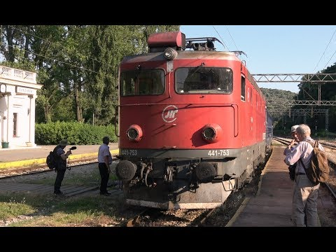 Driver's Eye View - Tito's Blue Train - Lapovo to Belgrade (Serbia)