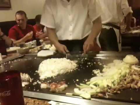 Great funny hibachi chef