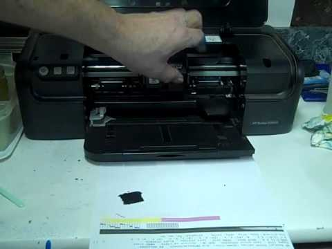 How To Refill HP 21 and 22 Ink Cartridges HP Deskjet D2460 - Part 2