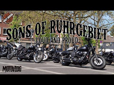 🔥 Sonntags Tour mit den HARLEYS 🔥| LOUD & PROUD | Harley Davidson Motovlog | Rideout