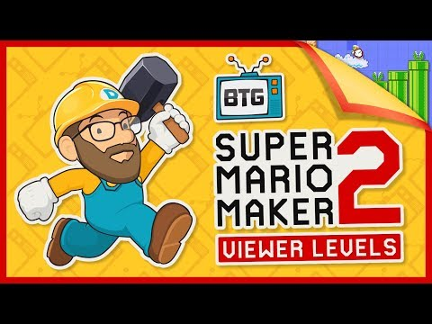 🔴 Super Mario Maker 2 Live Stream | Viewer Levels with Darby BTG