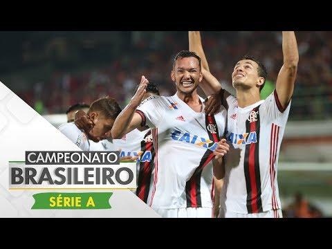 Melhores Momentos - Gols de Flamengo 2x0 Ponte Preta - Campeonato Brasileiro (14/06/2017)