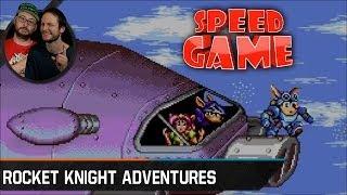 Speed Game - Rocket Knight Adventures - Fini en 27:18