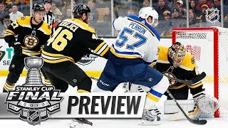 E.J. Hradek, Dan Rosen preview the 2019 Stanley Cup Final thumbnail