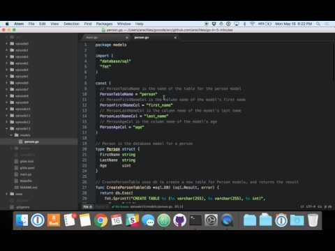 Using the database/sql Package (Episode 13)