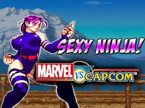 SEXY PSYLOCKE - Marvel Vs Capcom Classics (Marvel Super ... Marvel Now Psylocke