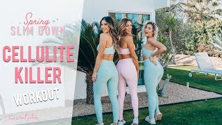 How to Get Rid of Cellulite | Fat Burning Workout