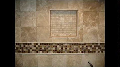Travertine Limestone  Master Bathroom and shower stall
