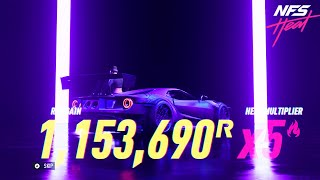 NFS Heat - EARN 5,000,000 REP Per Night In Need For Speed Heat! Level Up FAST! (NFS HEAT REP GLITCH)
