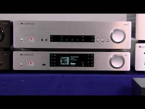 Cambridge Audio CXN digital preamp & network player | Crutchfield video