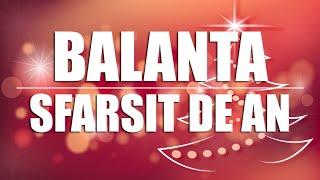 BALANTA ♎ SFARSIT DE DECEMBRIE ? ETALARE TAROT